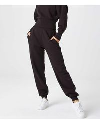 Urban Bliss High Waist Cuffed Joggers New Look - Black