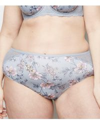 0e2f15dee9 New Look Pale Blue Floral Eyelash Lace Strappy Push-up Bra in Blue ...