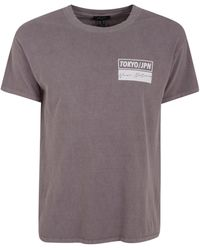 New Look Dark Grey Tokyo Slogan T-shirt