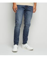 New Look Blue Super Skinny Stretch Jeans