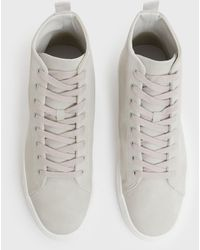 New Look High Top Trainers - Grey