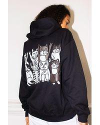 New Love Club - Cat Group Black Hood - Lyst