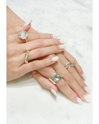 Ali Grace Jewelry | Large Moonstone Ring | Lyst