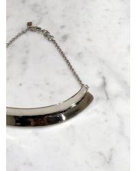 Quarry | Hirshhorn Small White Bronze Collar | Lyst