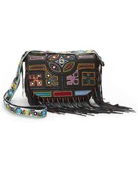 Nicole Miller - Panama Tiles Crossbody Bag - Lyst