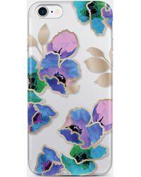 Nicole Miller Botanical Iphone 7 Case - Blue