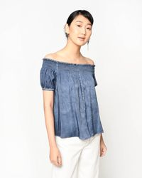 Nicole Miller - Garment Dyed Rocky Top - Lyst