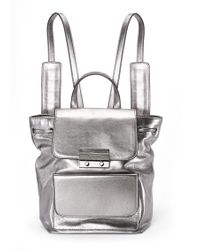 Nicole Miller - Legend Leather Backpack - Lyst