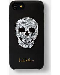 Nicole Miller Sequin Skull Iphone 6/6s/7/8 Case - Metallic