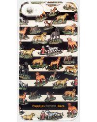 Nicole Miller Puppies Behind Bars Iphone 7 Case - Multicolour