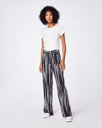 Nicole Miller - Barcode Trouser - Lyst