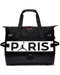 Nike Jordan Paris Saint-germain Soccer Duffel Bag - Black