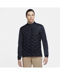 Nike Aeroloft Repel Golf Jacket - Blue