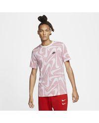 Nike - T-shirt stampata Sportswear - Lyst