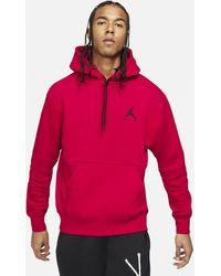 Nike Jordan Jumpman Air Fleece-Hoodie - Rot