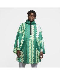 Nike Nigeria Woven Poncho Green