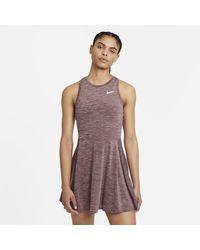 Nike - Court Dri-fit Advantage Tennis Dress Red - Lyst