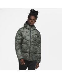 Nike Sportswear Down-fill Windrunner Shield Jacket - Green