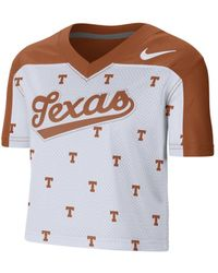 Nike College (texas) Cropped Jersey - Orange