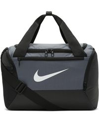Nike Sac de sport de training Brasilia (très petite taille) - Gris