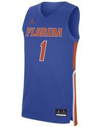 Nike Jordan College Replica (florida) Basketball Jersey - Blue