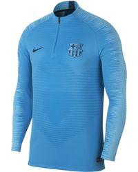 907857fc8 Nike - Fc Barcelona Vaporknit Strike Drill Long-sleeve Football Top - Lyst