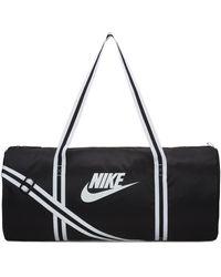Nike Heritage Duffel Bag - Black