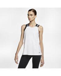 Nike Canotta Pro - Bianco
