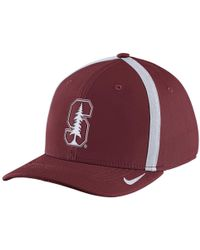 Nike - College Aerobill Swoosh Flex (stanford) Fitted Hat - Lyst