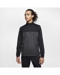Nike Shield Victory 1/2-zip Golf Jacket - Black