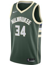 961245566d1 Nike - Giannis Antetokounmpo Icon Edition Swingman Jersey (milwaukee Bucks) Men s  Nba Connected Jersey