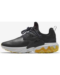 purchase cheap 76289 08591 Nike - React Presto Premium By You Custom Lifestyle Shoe - Lyst