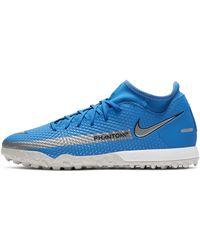 Nike Phantom Gt Academy Dynamic Fit Tf Artificial-turf Football Shoe Blue