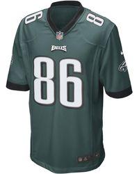 Nike Maglia da football americano Philadelphia Eagles (Zach Ertz) Game NFL - Verde
