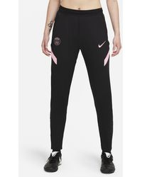 Nike Paris Saint-germain Strike Away Dri-fit Football Trousers Black