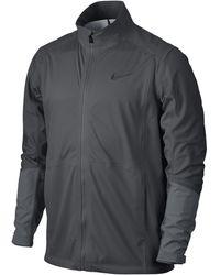 Nike Hyperadapt Storm-fit Full-zip Men's Golf Jacket - Gray
