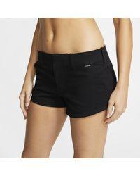 Nike Shorts Chino Hurley Lowrider - Nero