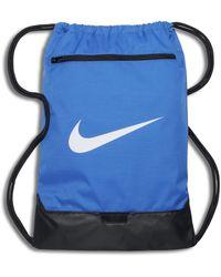 Nike Sacca per la palestra da training Brasilia - Blu