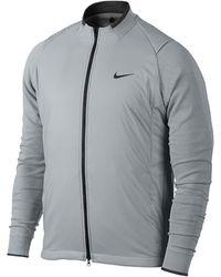 Nike Hyperadapt Aerolayer Jacket Men's Golf Jacket - Gray