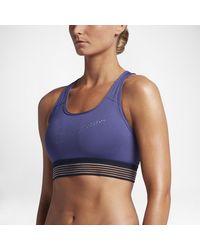Nike - Pro Classic Padded Women's Medium Support Sports Bra - Lyst