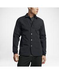 Nike Coaches Men's Golf Blazer - Black