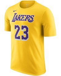 Nike Lakers NBA-T-Shirt - Gelb