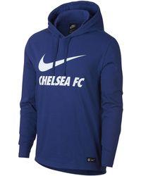 Kids Nike 2018-2019 Chelsea Dry Tracksuit Blue