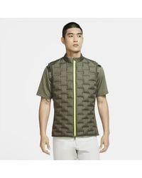 Nike Aeroloft Repel Golf Gilet - Green