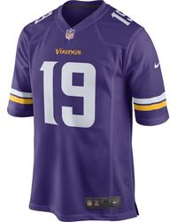 Nike NFL Minnesota Vikings (Latavius Murray) American-Football-Heimtrikot für Herren - Lila