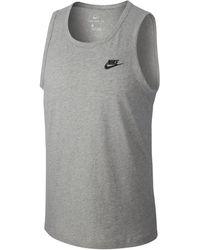 Nike Canotta Sportswear - Grigio