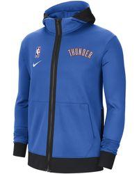 Nike Oklahoma City Thunder Showtime Therma Flex Nba Hoodie - Blue