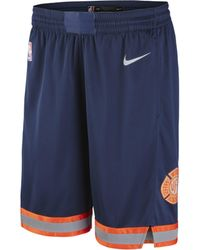 Nike - Short NBA New York Knicks City Edition Swingman pour Homme - Lyst