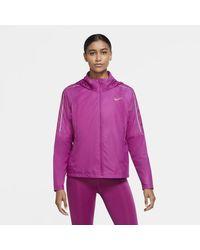 Nike Giacca da running Shield - Rosa