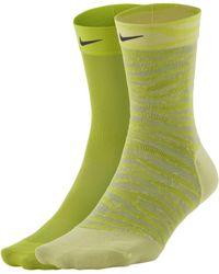 Nike Calze da training alla caviglia Sheer - Nero